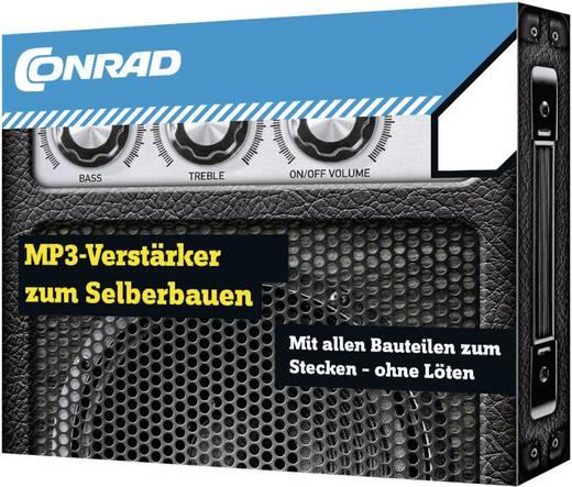 MP3 erősítő építő készlet, Conrad 10128
