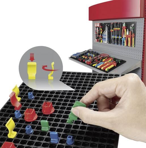 Szerszámtároló tábla 2 db, 80 részes tartozék készlettel 194mm x 278mm x 12mm Toolcraft