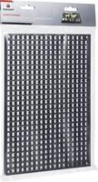 Fali lyuktábla szerszám tároláshoz, 278 mm x 194 mm x 12 mm 1 db,.Toolcraft TOOLCRAFT