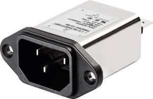 Hálózati szűrő hidegkészülék aljjal 250 V/AC 3 A (H x Sz) 48 mm x 22.5 mm Schaffner FN9244-3-06 1 db Schaffner