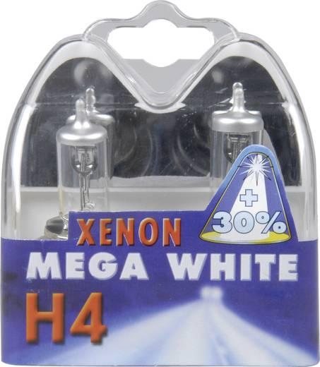 Unitec Halogén izzó, Xenon Mega White H4 12 V 1 pár P43t