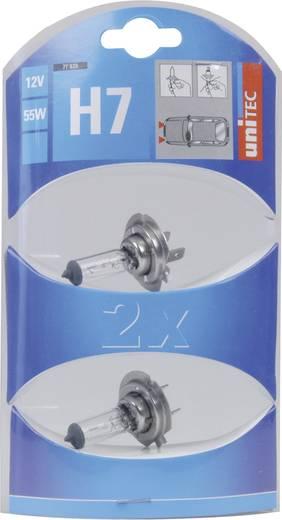 Unitec Standard halogénlámpa H7 12 V 1 pár PX26d