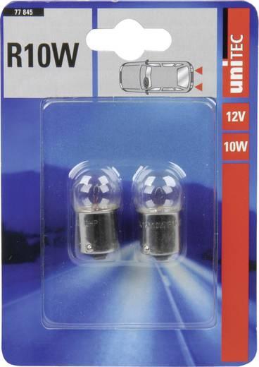 Unitec Standard fényforrás R10W 12 V 1 pár BA15s
