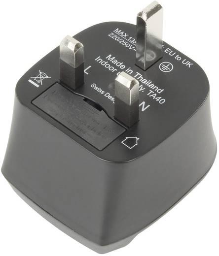 Angol/magyar konnektor átalakító úti adapter, Ansmann 1250-0001