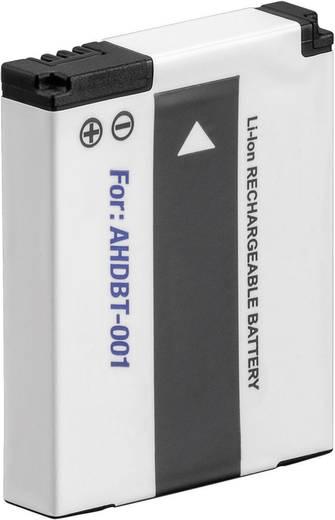 AHDBT-002 GoPro Hero HD kamera akku 3,7 V 1050 mAh, Conrad energy CGOPAHDBT001