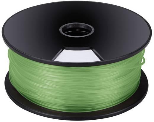 Műanyag szál 3D nyomtatóhoz, zöld, 3mm, 1 kg, Velleman PLA3G1