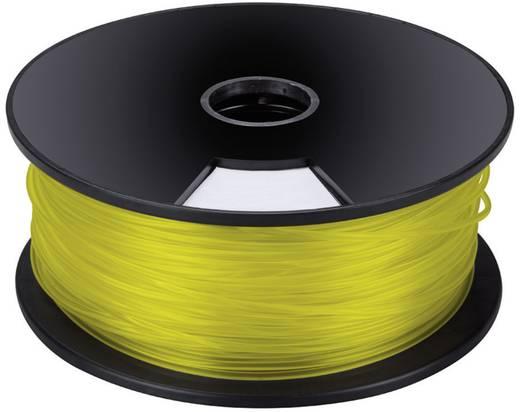 Műanyag szál 3D nyomtatóhoz, sárga, 3mm, 1 kg, Velleman PLA3Y1