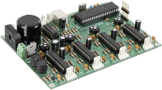 Velleman 4 csatornás léptetőmotor kártya USB csatlakozóval Üzemi feszültsé