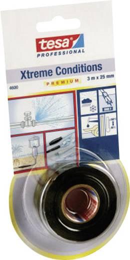 Önvulkanizáló szilikon szalag, fekete, Tesa Xtreme Conditions Black 3 m x 25 mm