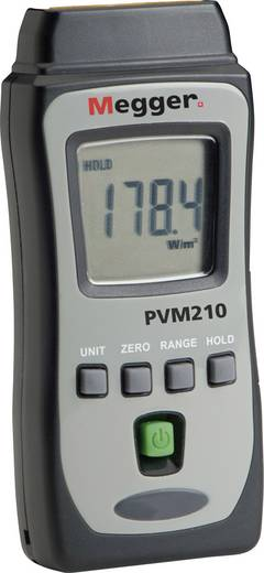 Fotovoltaik fénymérő, napbesugárzás intenzitás mérő Megger PVM210