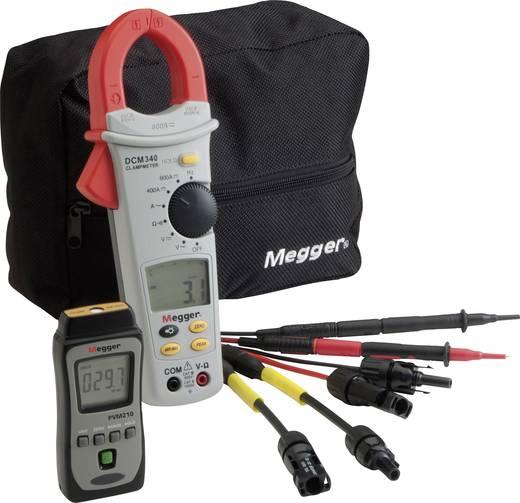 Napelemes mérőkészlet, fotovoltaik fénymérő, napbesugárzás intenzitás mérő Megger PVK330 Solar Kit