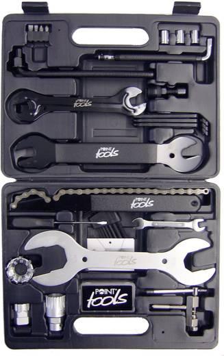 Szerszámkészlet kerékpár szereléshez, 32 részes, Point Toolbox 29266301
