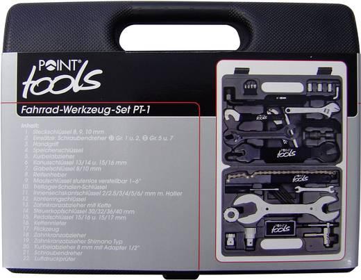 Kerékpár szerszám készlet, 36 részes, Point Toolbox 36