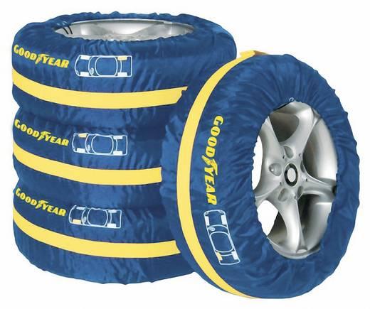 Gumiabroncs védőhuzat, autókerék tároló táska 4 db, Goodyear