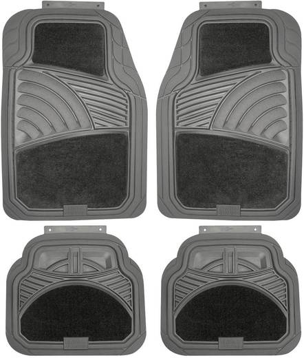 Lábszőnyeg PVC velúr Univerzális PVC Fekete Goodyear