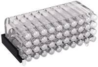 Miniatűr többszörös fényvezető 0603 SMD LED-hez, fekvő, Mentor 1296.2024 (1296.2024) Mentor