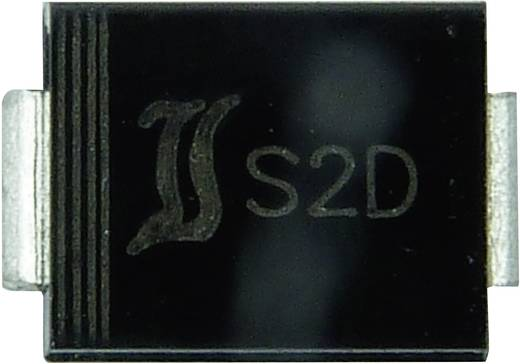 Zener dióda Diotec Z2SMB8.2 Ház típus DO-214AA/SMB P( tot) 2 W Zener feszültség 8.2 V