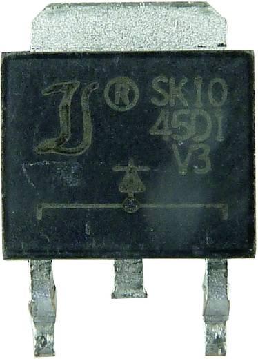 Schottky dióda Diotec SK2045CD2 Ház típus TO-263AB/D2PAK I(F) 10 A Gátfesz. 45 V