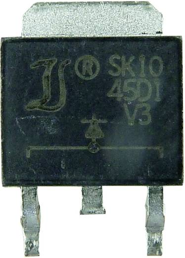 Schottky dióda Diotec SK3045CD2 Ház típus TO-263AB/D2PAK I(F) 15 A Gátfesz. 45 V