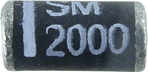 Dióda Diotec SM2000 Ház típus DO-213AB/Melf I(F) 1 A Gátfesz. 2000 V