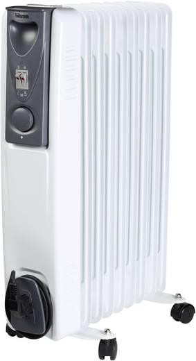 Olajradiátor, 9 bordás, 800/1200/2000 W 230 V/50 Hz, fehér, Tristar KA-5114