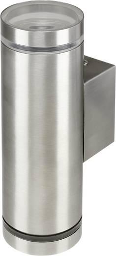 Basetech Kültéri lámpatest, Parla Up and Down ESL-4438 GU10 11 W Ezüst 220-240 V/50 Hz