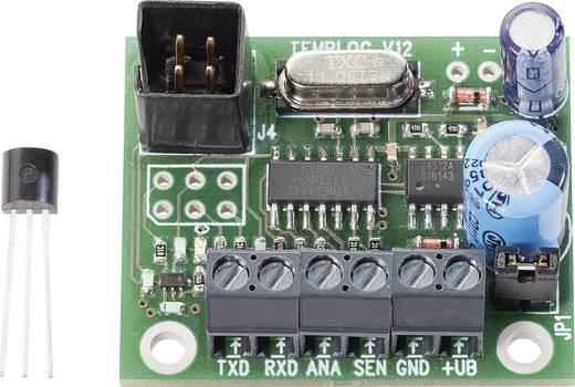 Hőmérséklet adatgyűjtő modul 7 - 14 V/DC, -55 - +125 °C, Conrad
