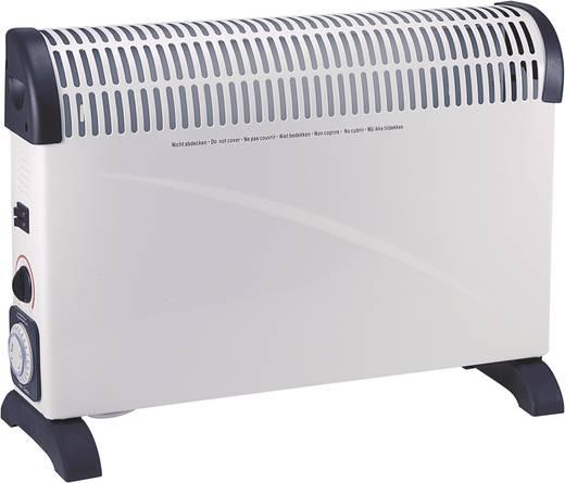 Konvektor időzítővel 750/1250/2000W, fehér