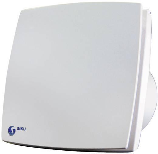 Fali és mennyezeti szellőző ventilátor, utánfutás relével, Ø 100 mm, fehér, SIKU 30206