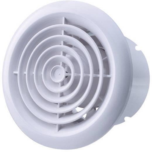 Fali és mennyezeti szellőző ventilátor, kerek Ø 100 mm, fehér, SIKU 27525