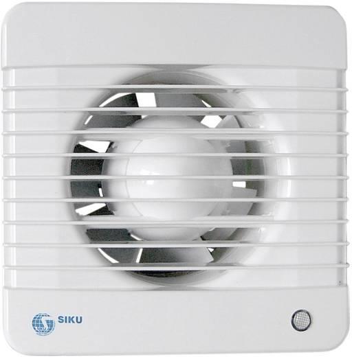 Falba és mennyezetbe építhető elszívó ventilátor 230 V 185 m³/h 12.5 cm Wallair ML 125