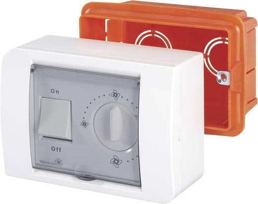 Elektronikus fordulatszámszabályzó szellőző ventillátorhoz, fehér, R10