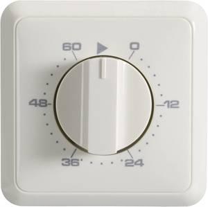Fali időkapcsoló óra, analóg időzítő 3680 W IP20 Wallair 20100261 (20100261) Wallair