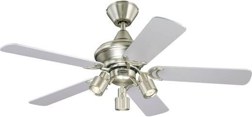 Mennyezeti ventilátor Westinghouse Kingston (Ø) 105 cm Lapátszín: Juhar, Ezüst Házszín: Alumínium (csiszolt)