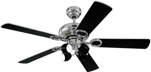 Mennyezeti ventilátor Westinghouse Helix Fusion (Ø) 132 cm Lapátszín: Fekete, Fehér Házszín: Króm