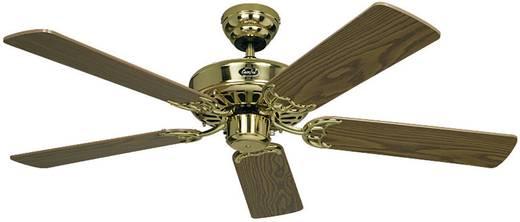 Mennyezeti ventilátor, 5 lapátos, Ø 103 cm, tölgy/sárgaréz, CasaFan Classic Royal 103 MP