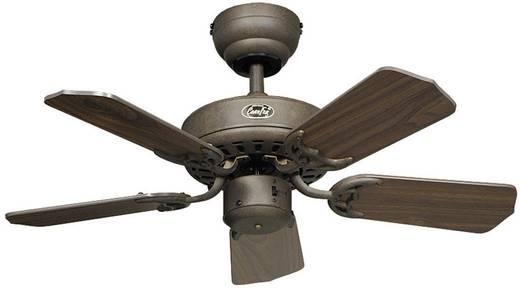 Mennyezeti ventilátor, 5 lapátos, Ø 75 cm, mogyorófa/barna, CasaFan Classic Royal 75 BA