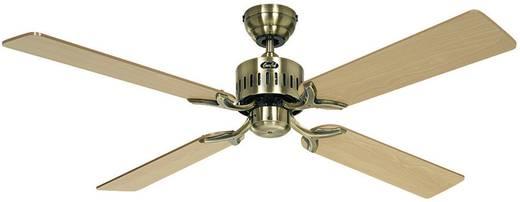 Mennyezeti ventilátor, 4 lapátos, Ø 132 cm, bükk/sárgaréz, CasaFan Telesto MA