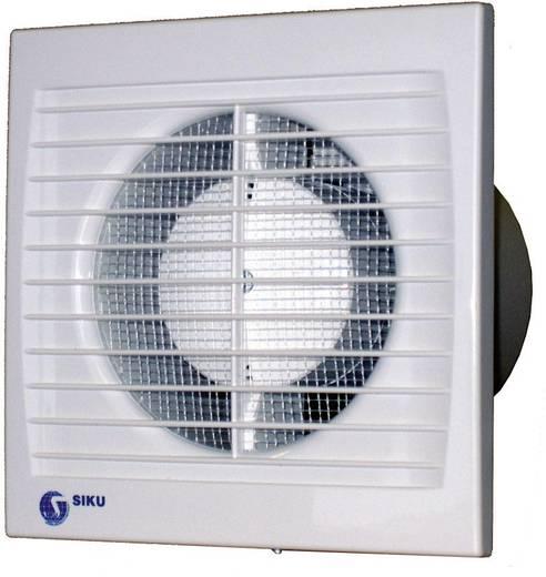 Falba és mennyezetbe építhető elszívó ventilátor 95 m³/h 10 cm SIKU 100STH Silenta 30382
