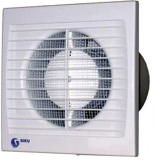 Falba és mennyezetbe építhető elszívó ventilátor 292 m³/h 15 cm SIKU 150 S Silenta 30385
