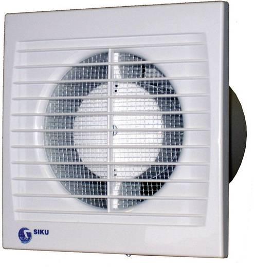 Falba és mennyezetbe építhető elszívó ventilátor 292 m³/h 15 cm SIKU 150 S Silenta 30386