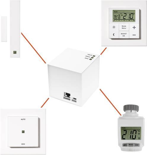 eQ-3 MAX! Cube Lan Gateway internetes fűtésvezérlés, fehér, 99004