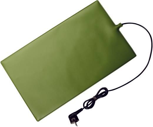 Elektromos fűtőszőnyeg, vízálló, 30W, 500x300x4 mm, zöld, AccuLux
