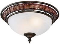 Mennyezeti ventilátor lámpa Hunter WICKER BOWL VB (24120) Hunter