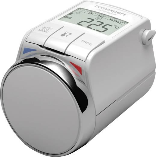 Homexpert by Honeywell HR25-Energy Programozható elektromos fűtőtest termosztátfej radiátorra, fehér/króm