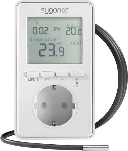 Univerzális konnektoros termosztát kijelzővel, -20 ... 70 °C, Sygonix tx.3 38923W