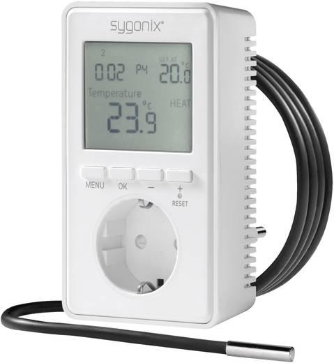 Univerzális konnektor termosztát kijelzővel, -20 ... 70 °C, Sygonix tx.3 38923W