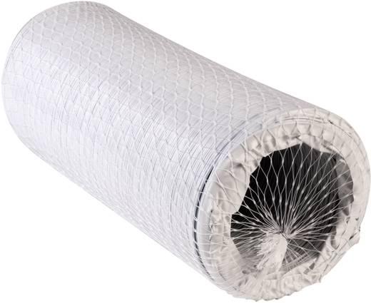 Hajlékony spiráltömlő, Műanyag (Ø x H) 12.7 cm x 6 m Wallair N52856 Fehér