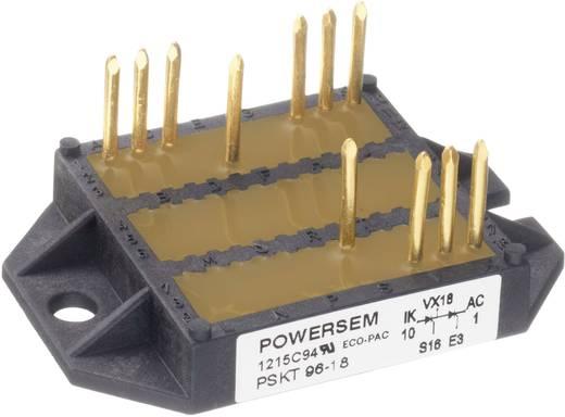 3 fázisú teljesítmény egyenirányító, névleges áram: 100 A , U(RRM) 1400 V, POWERSEM PSD 98-14
