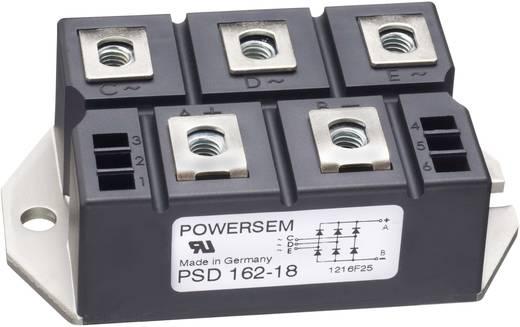 3 fázisú teljesítmény egyenirányító, névleges áram: 175 A , U(RRM) 1800 V, POWERSEM PSD 162-18